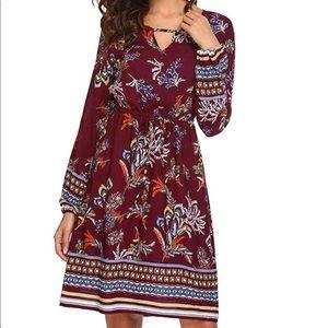 Zeagoo Women's Bohemian Dress